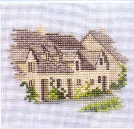 Derwentwater Designs Cross Stitch Kit - Minuets - Arlington Row