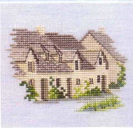 Derwentwater Designs Cross Stitch Kit - Minuets - Arlington Row