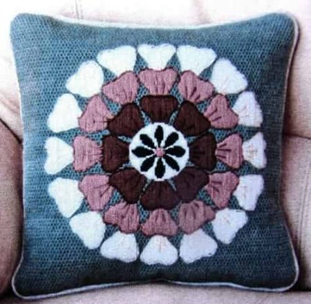 Twilleys of Stamford Long Stitch Kit - Cushion Front, Contemporary Floral