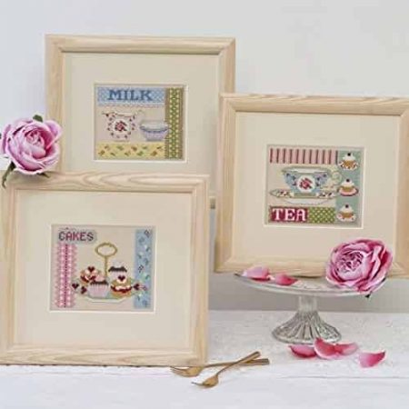 Twilleys of Stamford Cross Stitch Kit - Afternoon Tea - 3 designs