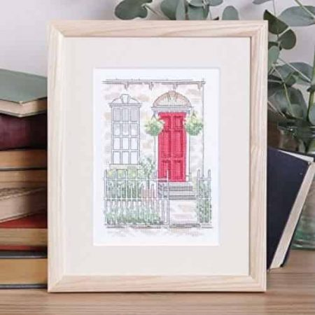 Twilleys of Stamford Cross Stitch Kit - Weekday - Cottage - Front Door