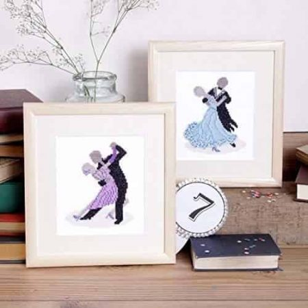 Twilleys of Stamford Cross Stitch Kit - In the Spotlight - Dancing