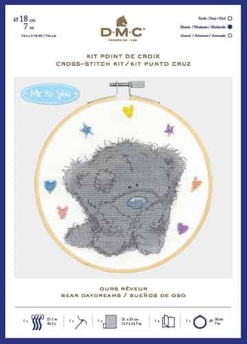 DMC Cross Stitch Kit - Tatty Teddy - Me To You Bear Daydreams - BL1190/72