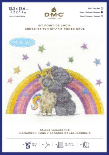 DMC Cross Stitch Kit - Tatty Teddy - Me To You - Llamacorn Hugs - BL1192/72