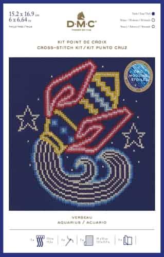 DMC Cross Stitch Kit - Zodiac Signs, Pisces BK1861