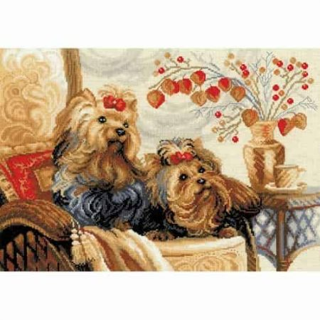 Riolis Cross Stitch Kit - Pets R1248