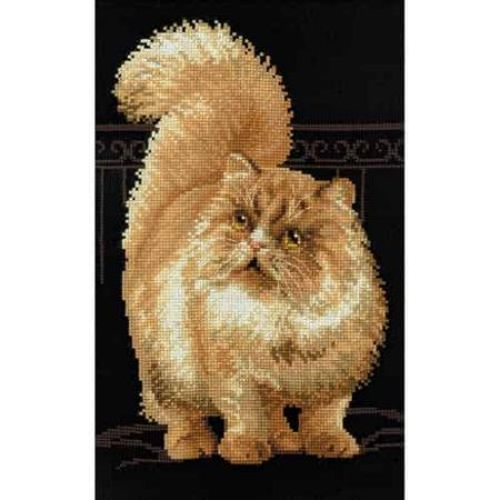 Riolis Cross Stitch Kit - Persian Cat