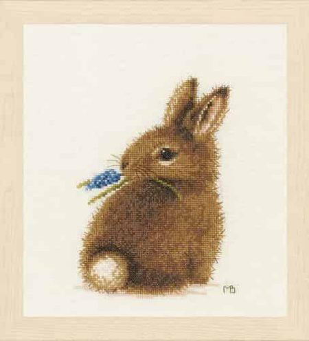 Lanarte Cross Stitch Kit - Bunny