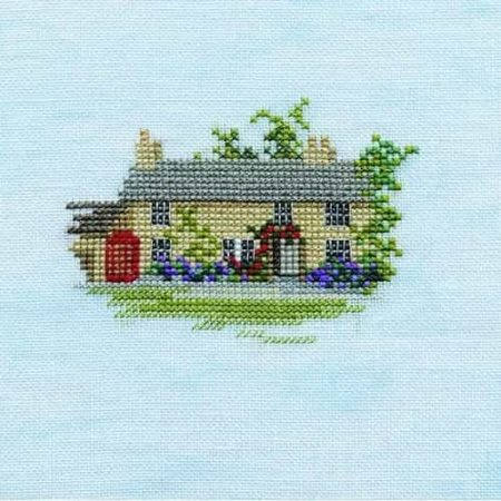 Derwentwater Designs Cross Stitch Kit - Minuets - Rose Cottage