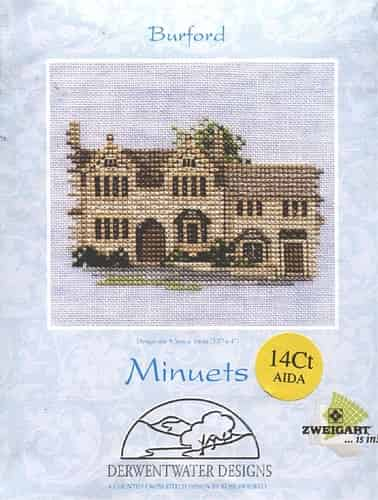Derwentwater Designs Cross Stitch Kit - Minuets - Burford