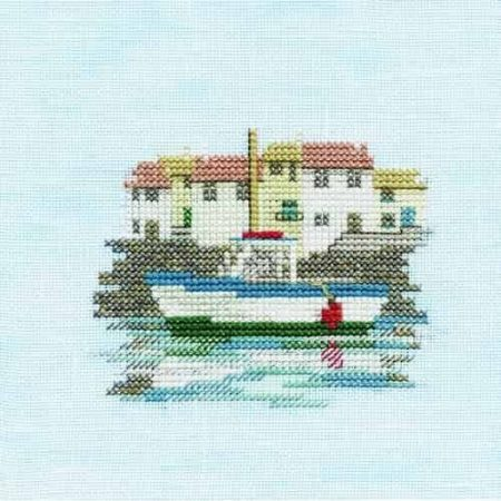Derwentwater Designs Cross Stitch Kit - Minuets - Harbour