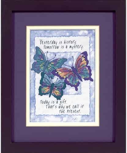 Dimensions Stamped Cross Stitch Kit - Today is a Gift