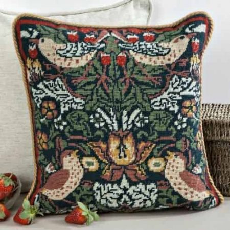 Twilleys of Stamford Cushion Front Tapestry Kit - Strawberry Thief