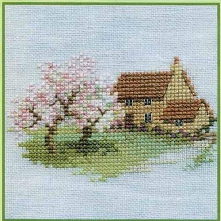 Derwentwater Designs Cross Stitch Kit - Minuets - Orchard Cottage