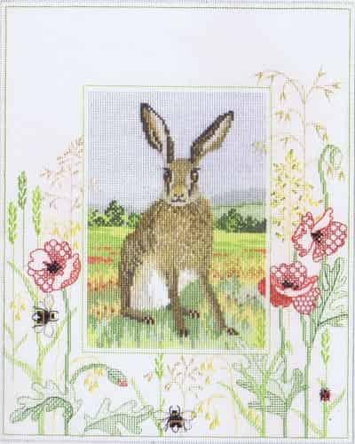 Derwentwater Designs Cross Stitch Kit - Hare