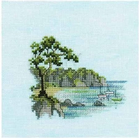 Derwentwater Designs Cross Stitch Kit - Minuets - Headland