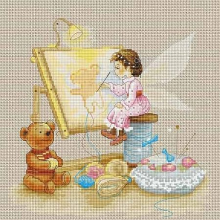 Luca S Cross Stitch Kit - Stitching Fairy B1130