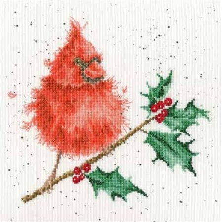 Bothy Threads Cross Stitch Kit - Festive Feathers XHD67