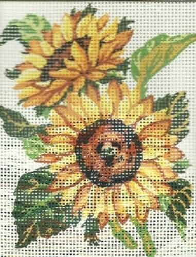 Collection D'art Needlepoint Tapestry Kit - Sunflowers