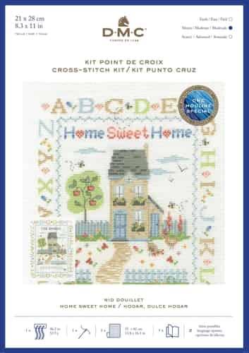 DMC Cross Stitch Kit - Home Sweet Home BK1920