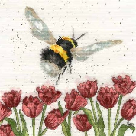 Bothy Threads Cross Stitch Kit - Flight of the Bumblebee XHD41