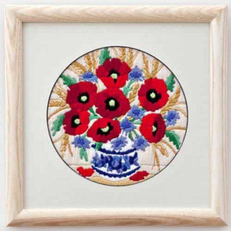 Twilleys of Stamford Long Stitch Kit - Poppies