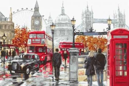 Luca S Cross Stitch Kit - London B2376
