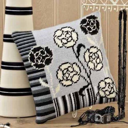Twilleys of Stamford Cushion Front Tapestry Kit - Tamara, Flower