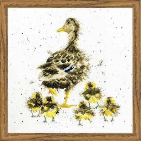 Bothy Threads Cross Stitch Kit - Lovely Mum, Duck XHD2