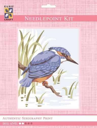 Grafitec Needlepoint Tapestry Kit - Kingfisher
