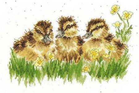 Bothy Threads Cross Stitch Kit - Buttercup - Ducks