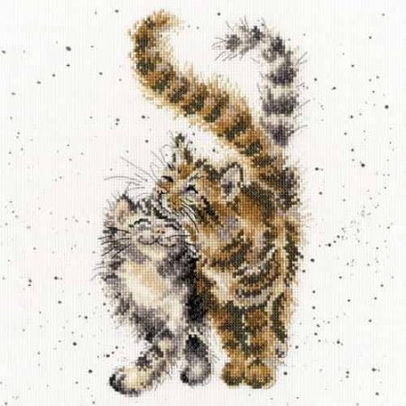 Bothy Threads Cross Stitch Kit - Feline Good, Cats XHD60