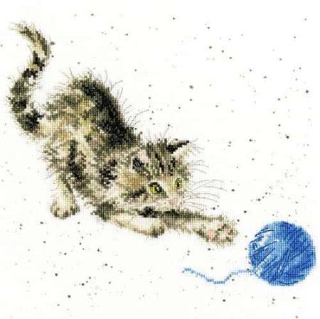 Bothy Threads Cross Stitch Kit - Kitty, Cat  XHD71