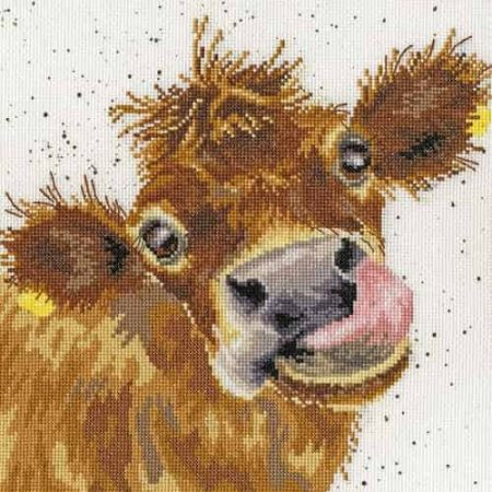 Bothy Threads Cross Stitch Kit - Moo, Cow XHD48