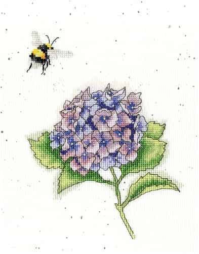 Bothy Threads Cross Stitch Kit - The Busy Bee XHD75