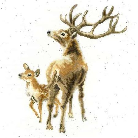 Bothy Threads Cross Stitch Kit - Wild at Heart, Deer and Fawn XHD72