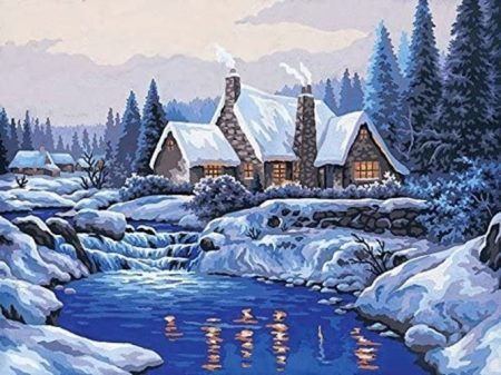 Grafitec Printed Tapestry Canvas - Reflections in the Snow