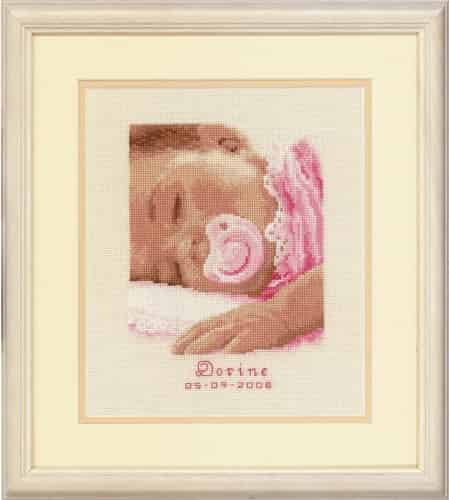 Vervaco Cross Stitch Kit - Sweet Dreams Baby Girl