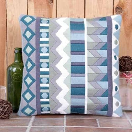 Twilleys of Stamford Cushion Front Tapestry Kit - Sea Mist