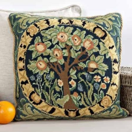Twilleys of Stamford Cushion Front Tapestry Kit - Orange Tree