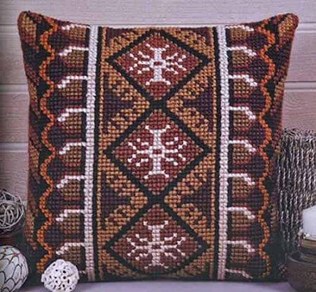 Twilleys of Stamford Cushion Front Cross Stitch Kit - Maya