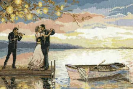 Design Works Cross Stitch Kit - Twilight Romance