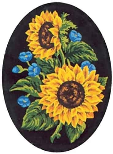 Collection D'Art Printed Tapestry Needlepoint Canvas - Sunflowers