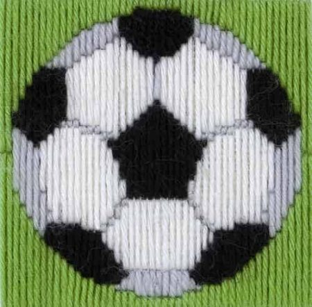 Anchor 1st Kit Beginners Long Stitch Kit - David Football