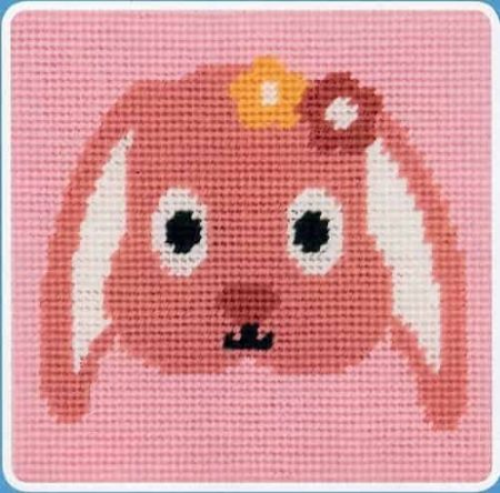 Anchor Beginners Tapestry Kit - Happy Rabbit