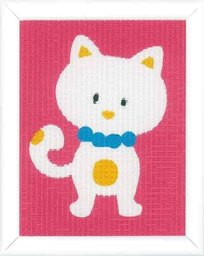 Vervaco Beginners Tapestry Kit - Cute Cat