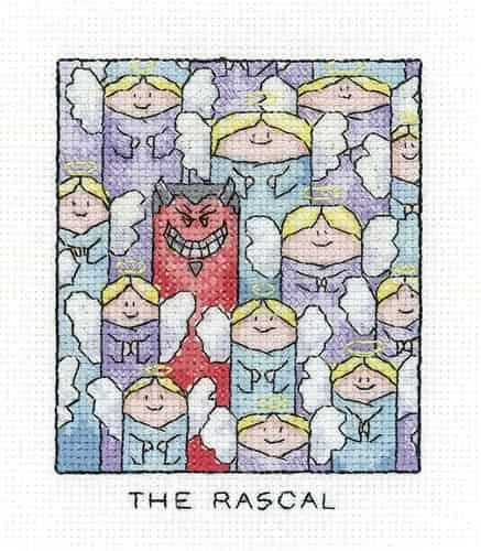 Heritage Crafts Cross Stitch Kit - The Rascal