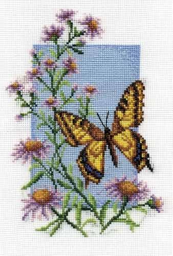 Panna Cross Stitch Kit - Swallowtail, Butterfly