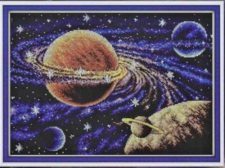 Panna Cross Stitch Kit - Milky Way