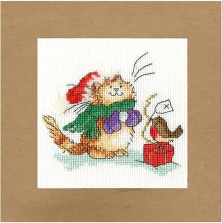 Bothy Threads Cross Stitch Kit - Christmas Card, Just For You